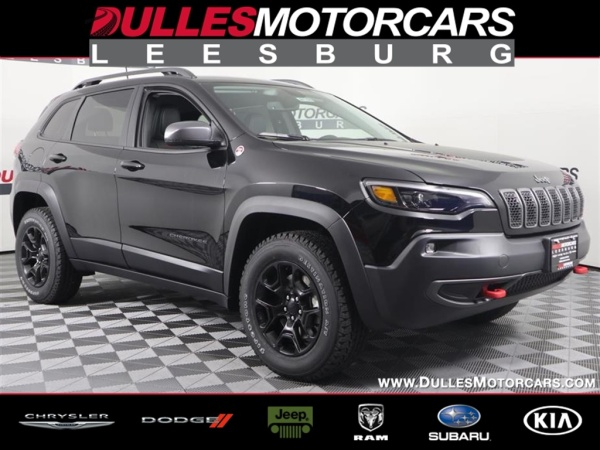 2019 Jeep Cherokee Trailhawk Elite 4wd For Sale In Leesburg Va