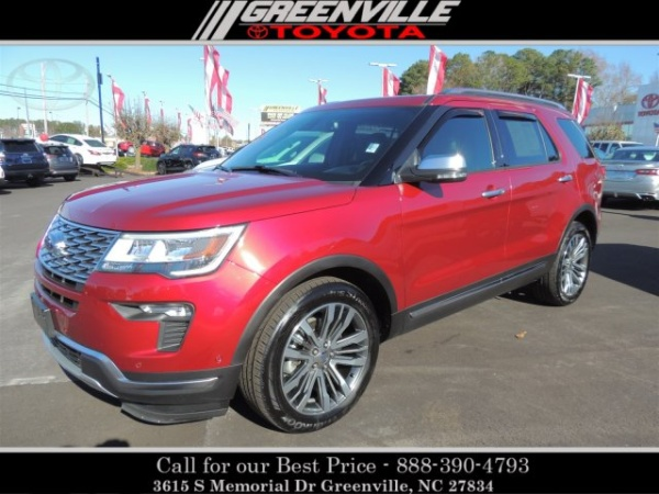2018 Ford Explorer in Greenville, NC