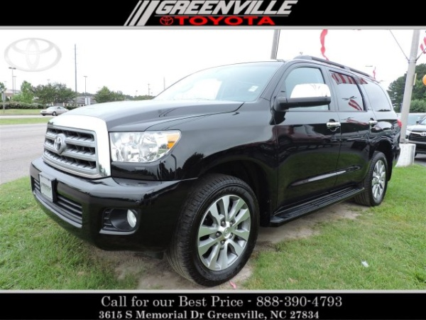 2017 Toyota Sequoia Limited 4WD For Sale in Greenville, NC | TrueCar