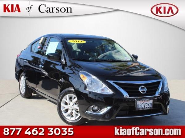 2018 Nissan Versa in Carson, CA