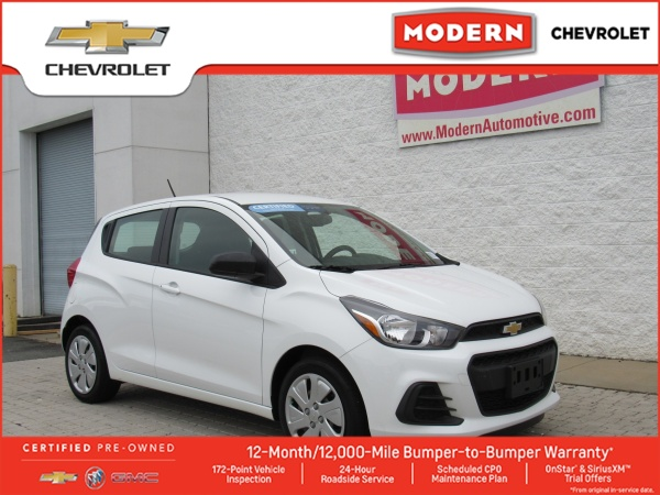 2016 Chevrolet Spark Ls At For Sale In Winston Salem Nc Truecar