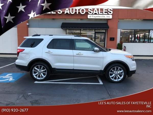 Ford Fayetteville Nc >> 2015 Ford Explorer Limited 4wd For Sale In Fayetteville Nc Truecar