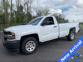 2016 Chevrolet Silverado 1500 Work Truck Regular Cab Long Box 2wd For In Manas