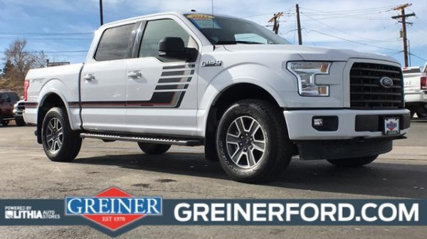 Greiner Ford Casper Wy >> 2017 Ford F 150 Xlt Supercrew 5 5 Box 4wd For Sale In