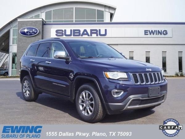 2016 Jeep Grand Cherokee in Plano, TX