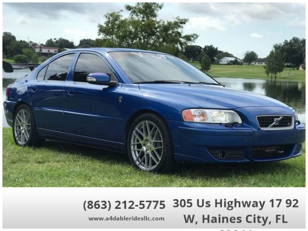 2007 Volvo S60 2 5l Turbo R Automatic Awd For Sale In Haines