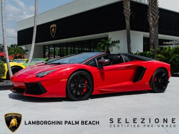 2016 Lamborghini Aventador Lp 700 4 Pirelli Edition Roadster For