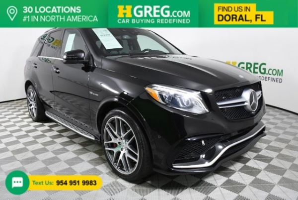 2016 Mercedes-Benz GLE-Class AMG GLE 63 S