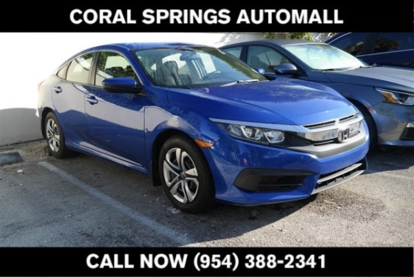 2016 Honda Civic in Coral Springs, FL