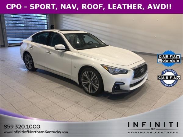 2019 Infiniti Q50 3.0T Sport