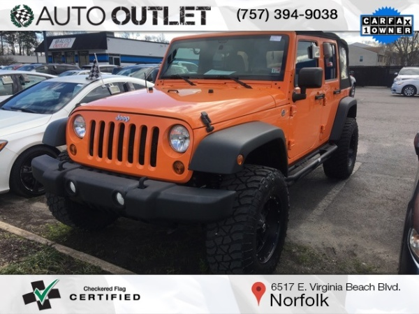 2013 Jeep Wrangler in Norfolk, VA