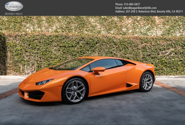 2017 Lamborghini Huracan Coupe Rwd For Sale In Beverly Hills Ca