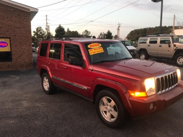 2006 jeep commander limited 4wd for sale in rolesville, nc truecar