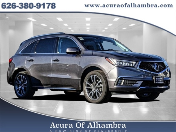 2019 Acura MDX FWD with Advance/Entertainment Package
