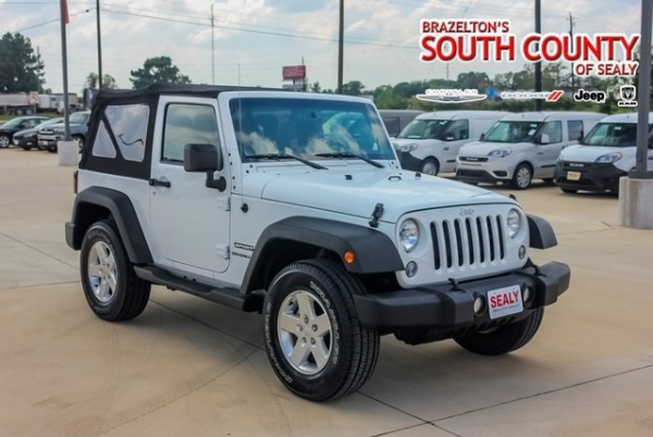 2015 Jeep Wrangler in Sealy, TX