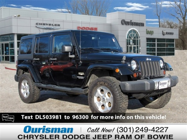 2013 Jeep Wrangler in Bowie, MD