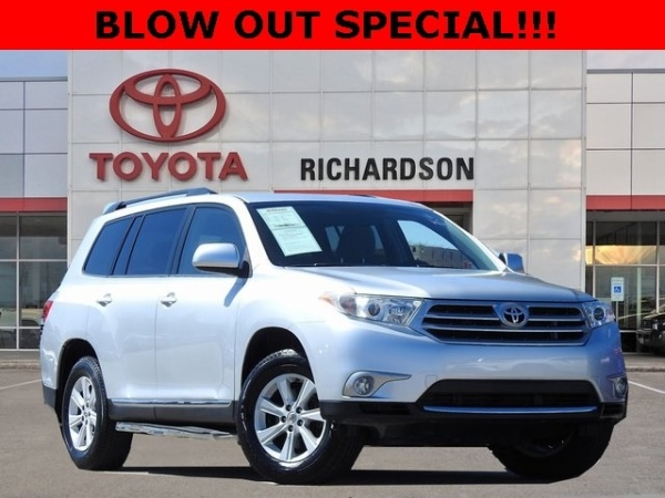 2013 Toyota Highlander in Richardson, TX