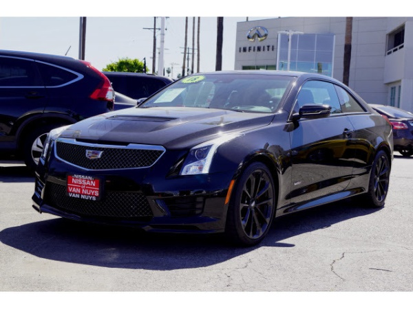2018 Cadillac Ats V Coupe For Sale In Van Nuys Ca Truecar