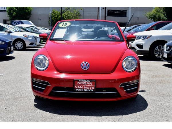 Volkswagen Van Nuys >> 2018 Volkswagen Beetle S Convertible For Sale In Van Nuys