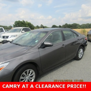 Great Used 2017 Toyota Camry LE I4 Automatic For Sale In Albany, GA