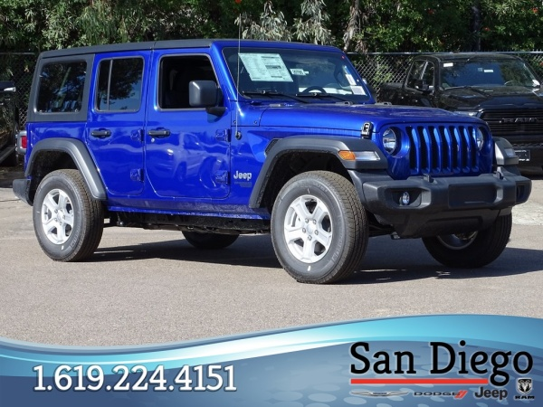 2020 Jeep Wrangler in San Diego, CA