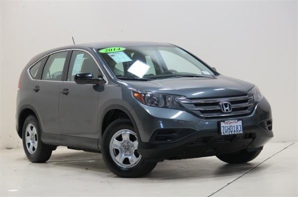 2014 Honda CR V LX 2WD $16,553 Palo Alto, CA