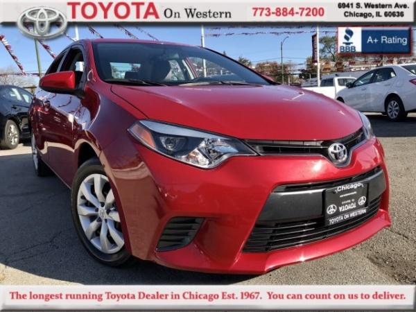 2016 Toyota Corolla in Chicago, IL