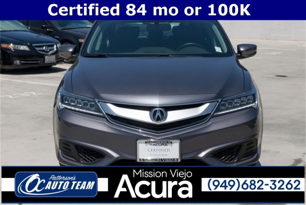 Acura Mission Viejo >> 2017 Acura Ilx With Premium Package For Sale In Mission