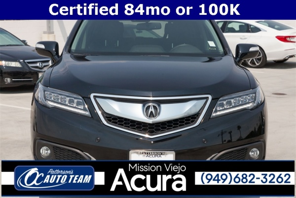 Acura Mission Viejo >> 2017 Acura Rdx Fwd With Advance Package For Sale In Mission