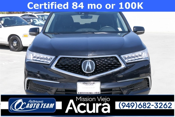 Acura Mission Viejo >> 2017 Acura Mdx Sh Awd With Technology Package For Sale In