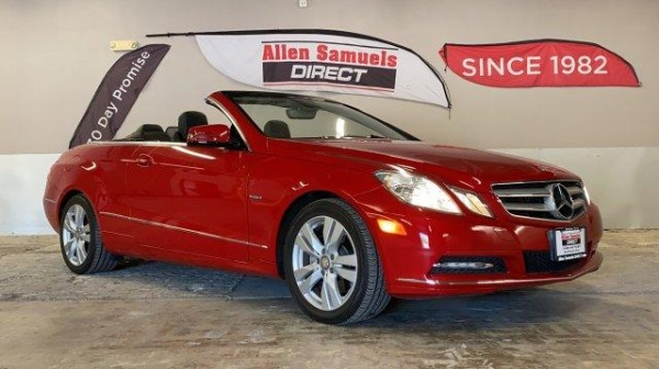 2012 Mercedes-Benz E-Class in Fort Worth, TX
