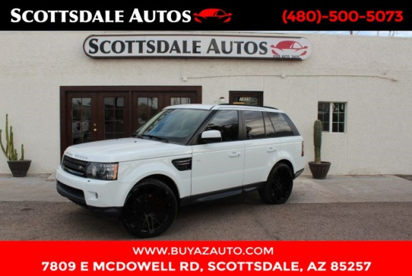 Land Rover Scottsdale >> 2012 Land Rover Range Rover Sport Hse For Sale In Scottsdale