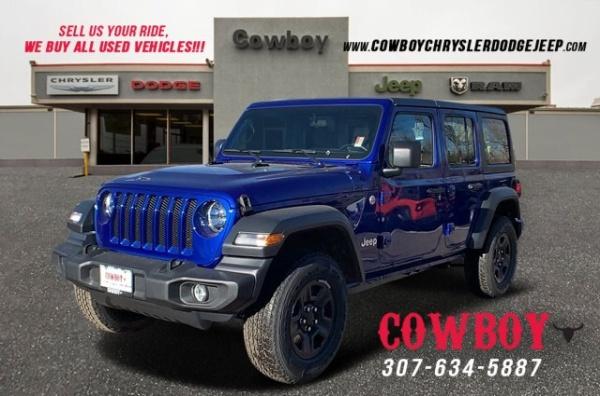 2020 Jeep Wrangler in Cheyenne, WY