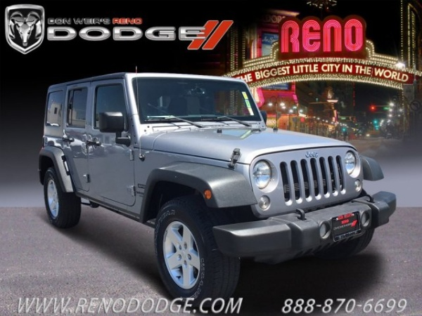 2016 Jeep Wrangler in Reno, NV