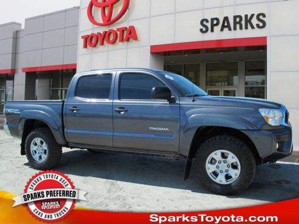 2015 Toyota Tacoma Double Cab 5 Bed V6 4wd Automatic For Sale In