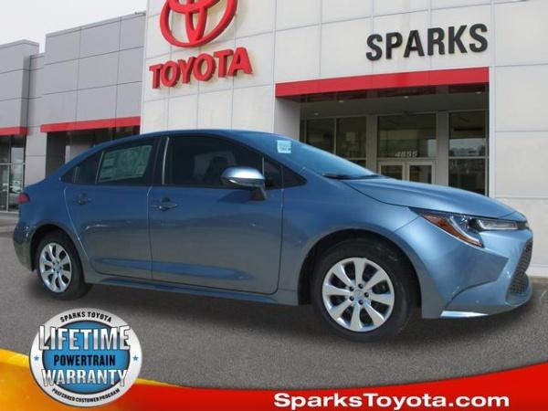 2020 Toyota Corolla Le Cvt For Sale In Myrtle Beach Sc Truecar