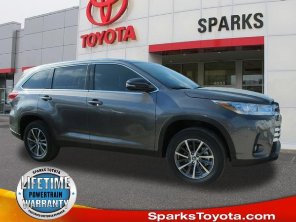2019 Toyota Highlander Xle V6 Fwd For Sale In Myrtle Beach Sc Truecar