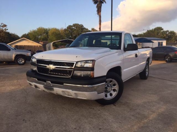 2007 chevrolet silverado 1500 work truck regular cab long box 2wd for sale in houston tx truecar. Black Bedroom Furniture Sets. Home Design Ideas