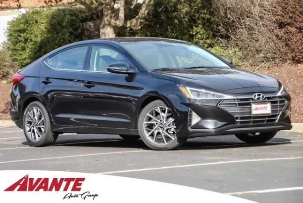 2019 Hyundai Elantra Limited