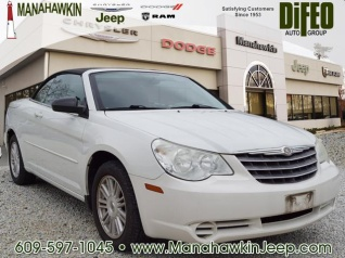 2008 Chrysler Sebring Lx Convertible Fwd For In Manahawkin Nj