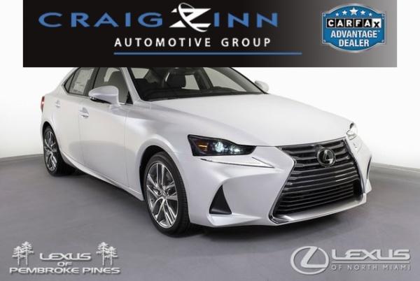 2020 Lexus IS in North Miami, FL
