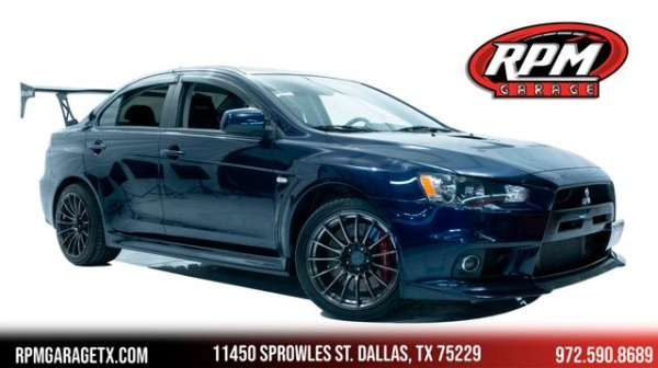 2014 Mitsubishi Lancer Evolution in Dallas, TX