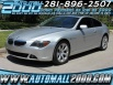 2006 BMW 6 Series 650i Coupe for Sale in Houston, TX