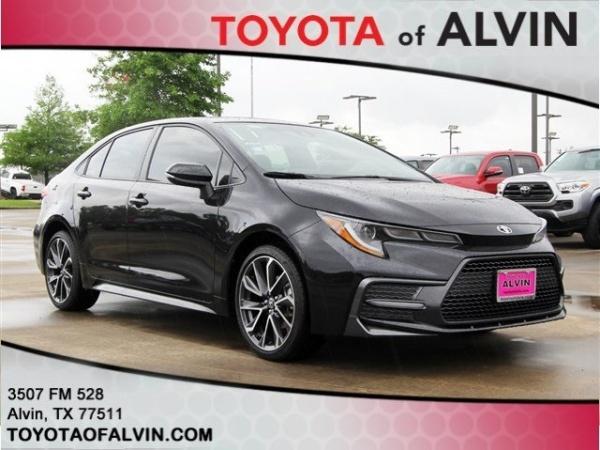Toyota Of Alvin >> 2020 Toyota Corolla Se Cvt For Sale In Alvin Tx Truecar