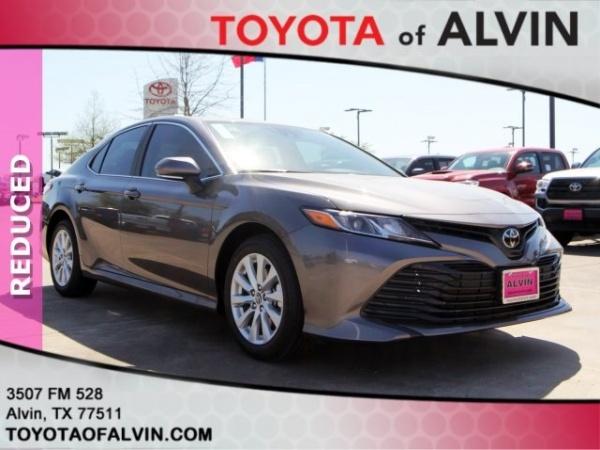 Toyota Of Alvin >> 2019 Toyota Camry Le Automatic For Sale In Alvin Tx Truecar