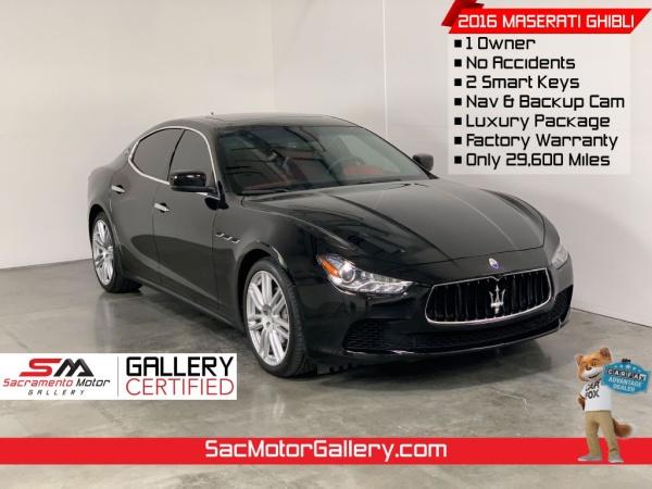 2016 Maserati Ghibli Sedan RWD For Sale in West Sacramento