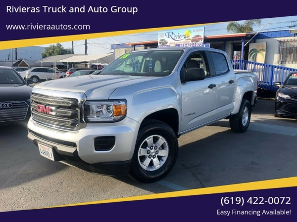 2018 GMC Canyon Crew Cab Short Box 2WD