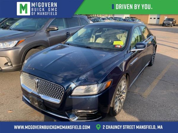 2017 Lincoln Continental in Mansfield, MA