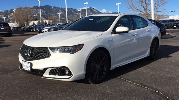 2019 Acura TLX 2.4L FWD with A-Spec Package