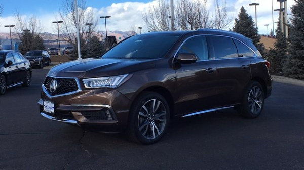 2019 Acura MDX SH-AWD with Advance Package